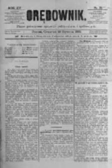 Orędownik: pismo poświęcone sprawom politycznym i spółecznym 1885.01.29 R.15 Nr23