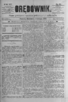 Orędownik: pismo poświęcone sprawom politycznym i spółecznym 1885.02.01 R.15 Nr26