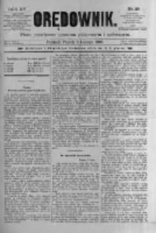Orędownik: pismo poświęcone sprawom politycznym i spółecznym 1885.02.06 R.15 Nr29