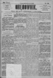 Orędownik: pismo dla spraw politycznych i społecznych 1909.05.01 R.39 Nr99