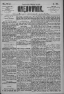 Orędownik: pismo dla spraw politycznych i społecznych 1909.05.06 R.39 Nr103