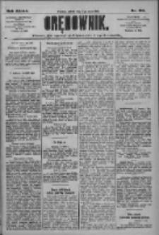 Orędownik: pismo dla spraw politycznych i społecznych 1909.05.08 R.39 Nr105