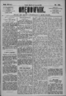 Orędownik: pismo dla spraw politycznych i społecznych 1909.05.11 R.39 Nr106