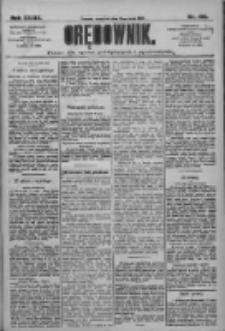 Orędownik: pismo dla spraw politycznych i społecznych 1909.05.13 R.39 Nr108