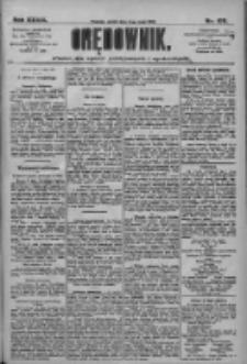 Orędownik: pismo dla spraw politycznych i społecznych 1909.05.14 R.39 Nr109