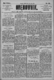 Orędownik: pismo dla spraw politycznych i społecznych 1909.05.15 R.39 Nr110