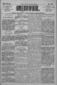 Orędownik: pismo dla spraw politycznych i społecznych 1909.05.20 R.39 Nr114
