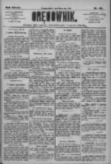 Orędownik: pismo dla spraw politycznych i społecznych 1909.05.22 R.39 Nr115