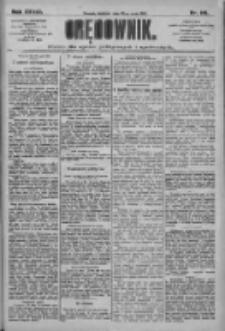 Orędownik: pismo dla spraw politycznych i społecznych 1909.05.23 R.39 Nr116