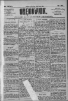Orędownik: pismo dla spraw politycznych i społecznych 1909.05.26 R.39 Nr118