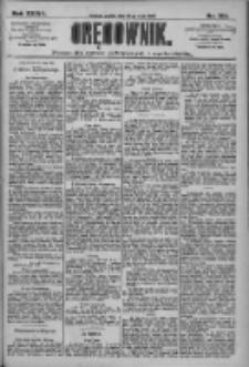 Orędownik: pismo dla spraw politycznych i społecznych 1909.05.28 R.39 Nr120