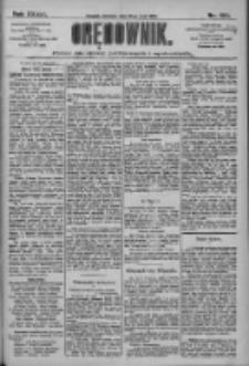Orędownik: pismo dla spraw politycznych i społecznych 1909.05.30 R.39 Nr122