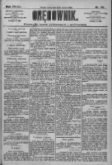 Orędownik: pismo dla spraw politycznych i społecznych 1909.06.12 R.39 Nr131