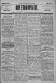 Orędownik: pismo dla spraw politycznych i społecznych 1909.06.15 R.39 Nr133