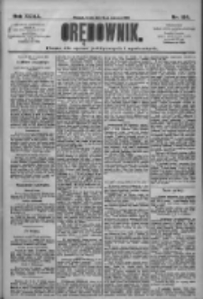 Orędownik: pismo dla spraw politycznych i społecznych 1909.06.16 R.39 Nr134
