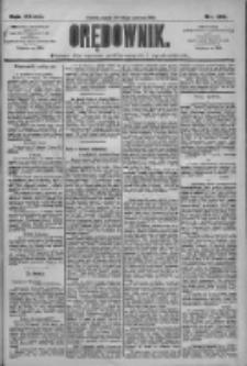 Orędownik: pismo dla spraw politycznych i społecznych 1909.06.18 R.39 Nr136