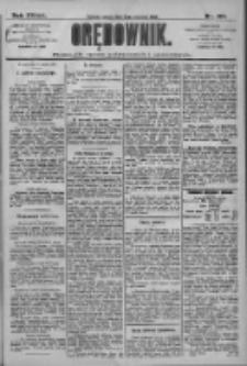 Orędownik: pismo dla spraw politycznych i społecznych 1909.06.19 R.39 Nr137