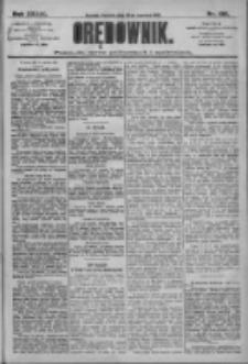 Orędownik: pismo dla spraw politycznych i społecznych 1909.06.20 R.39 Nr138