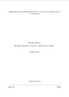 Poradnik Bibliograficzno-Metodyczny 2013 z.4