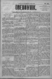 Orędownik: pismo dla spraw politycznych i społecznych 1909.06.24 R.39 Nr141