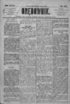 Orędownik: pismo dla spraw politycznych i społecznych 1909.06.26 R.39 Nr143