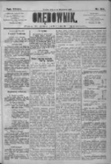 Orędownik: pismo dla spraw politycznych i społecznych 1909.07.10 R.39 Nr154