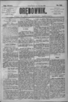 Orędownik: pismo dla spraw politycznych i społecznych 1909.07.13 R.39 Nr156