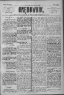 Orędownik: pismo dla spraw politycznych i społecznych 1909.07.14 R.39 Nr157