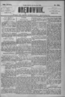 Orędownik: pismo dla spraw politycznych i społecznych 1909.07.15 R.39 Nr158