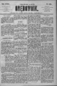 Orędownik: pismo dla spraw politycznych i społecznych 1909.07.17 R.39 Nr160