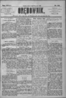 Orędownik: pismo dla spraw politycznych i społecznych 1909.07.18 R.39 Nr161
