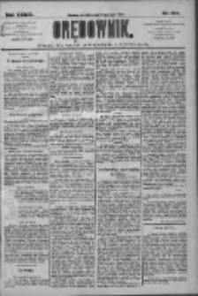 Orędownik: pismo dla spraw politycznych i społecznych 1909.07.22 R.39 Nr164