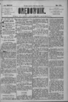 Orędownik: pismo dla spraw politycznych i społecznych 1909.07.29 R.39 Nr170