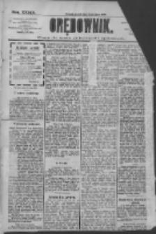 Orędownik: pismo dla spraw politycznych i społecznych 1909.07.30 R.39 Nr171