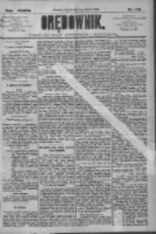 Orędownik: pismo dla spraw politycznych i społecznych 1909.08.01 R.39 Nr173
