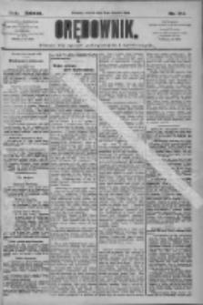 Orędownik: pismo dla spraw politycznych i społecznych 1909.08.03 R.39 Nr174
