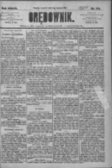 Orędownik: pismo dla spraw politycznych i społecznych 1909.08.05 R.39 Nr176