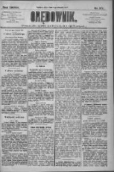 Orędownik: pismo dla spraw politycznych i społecznych 1909.08.06 R.39 Nr177