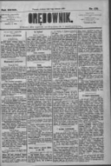 Orędownik: pismo dla spraw politycznych i społecznych 1909.08.08 R.39 Nr179