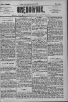 Orędownik: pismo dla spraw politycznych i społecznych 1909.08.11 R.39 Nr181