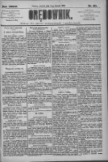 Orędownik: pismo dla spraw politycznych i społecznych 1909.08.15 R.39 Nr185