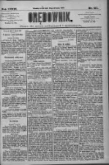 Orędownik: pismo dla spraw politycznych i społecznych 1909.08.18 R.39 Nr187