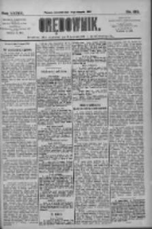 Orędownik: pismo dla spraw politycznych i społecznych 1909.08.19 R.39 Nr188