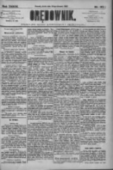 Orędownik: pismo dla spraw politycznych i społecznych 1909.08.20 R.39 Nr189