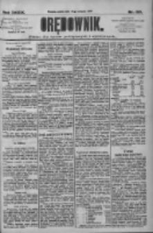 Orędownik: pismo dla spraw politycznych i społecznych 1909.08.21 R.39 Nr190