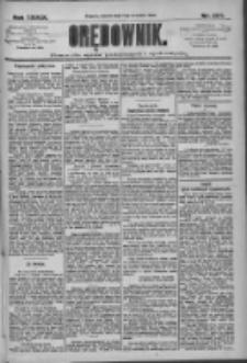 Orędownik: pismo dla spraw politycznych i społecznych 1909.09.07 R.39 Nr204