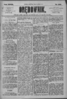 Orędownik: pismo dla spraw politycznych i społecznych 1909.09.10 R.39 Nr206