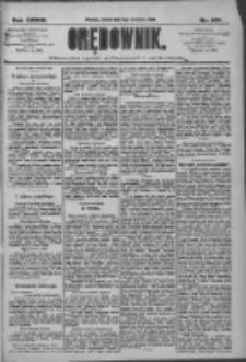 Orędownik: pismo dla spraw politycznych i społecznych 1909.09.11 R.39 Nr207