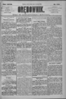 Orędownik: pismo dla spraw politycznych i społecznych 1909.09.14 R.39 Nr209