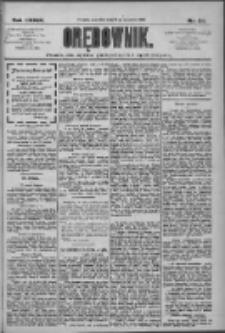 Orędownik: pismo dla spraw politycznych i społecznych 1909.09.16 R.39 Nr211